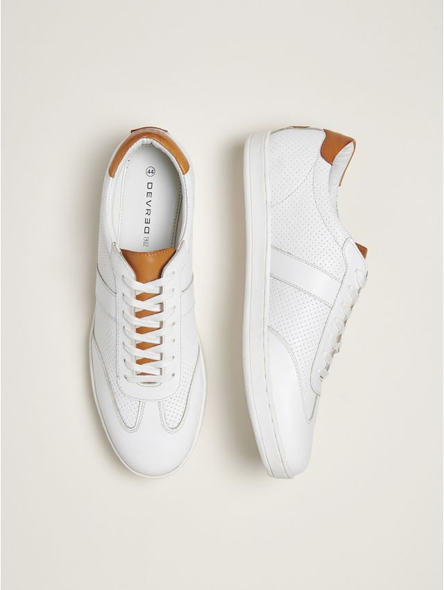 Baskets blanches homme