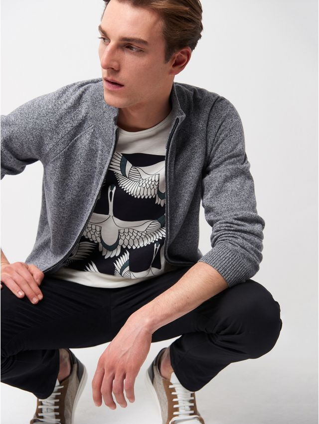 Cardigan homme casual