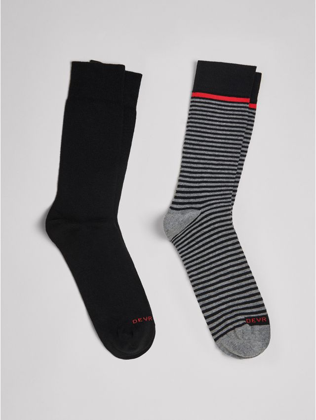 Chaussettes homme à rayures
