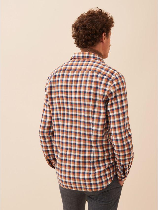 Chemise casual à carreaux