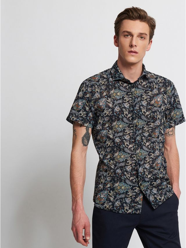 CHEMISE MANCHES COURTES CASUAL
