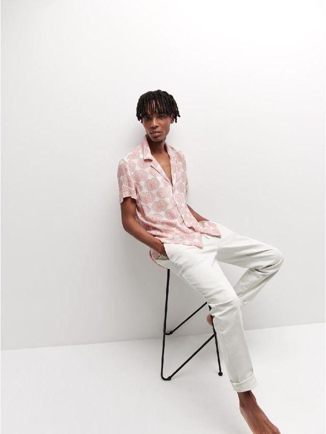 Chemise à manches courtes regular