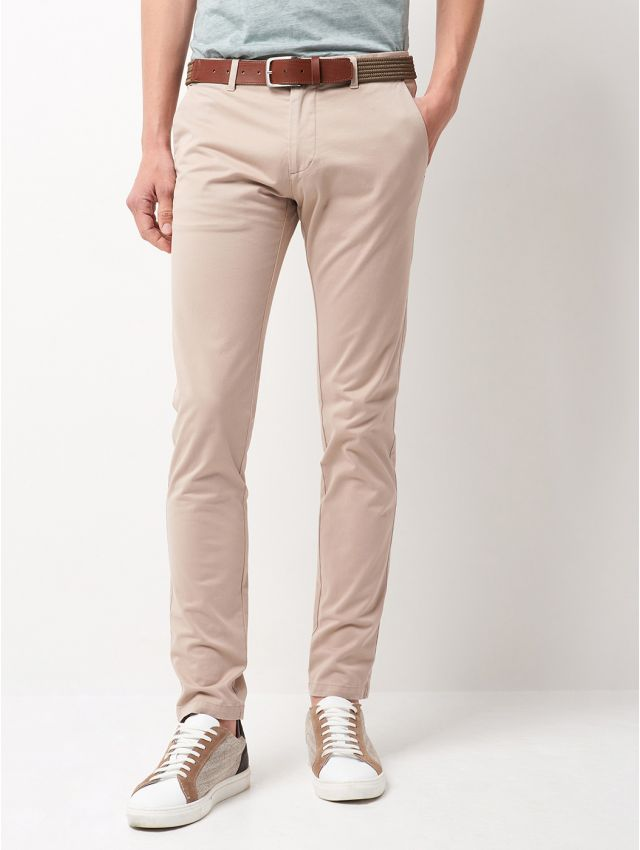 Chino homme casual uni