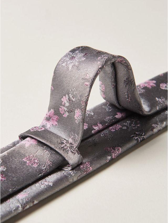 Cravate homme fleurie