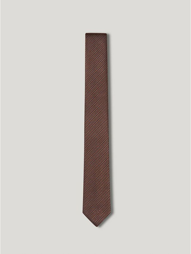 Cravate homme micro motifs