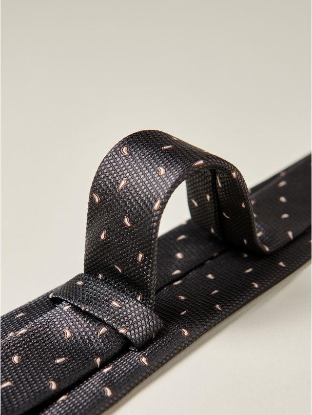 Cravate homme motifs cachemire