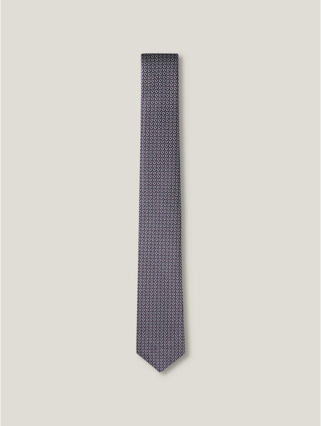 Cravate homme motifs géométriques