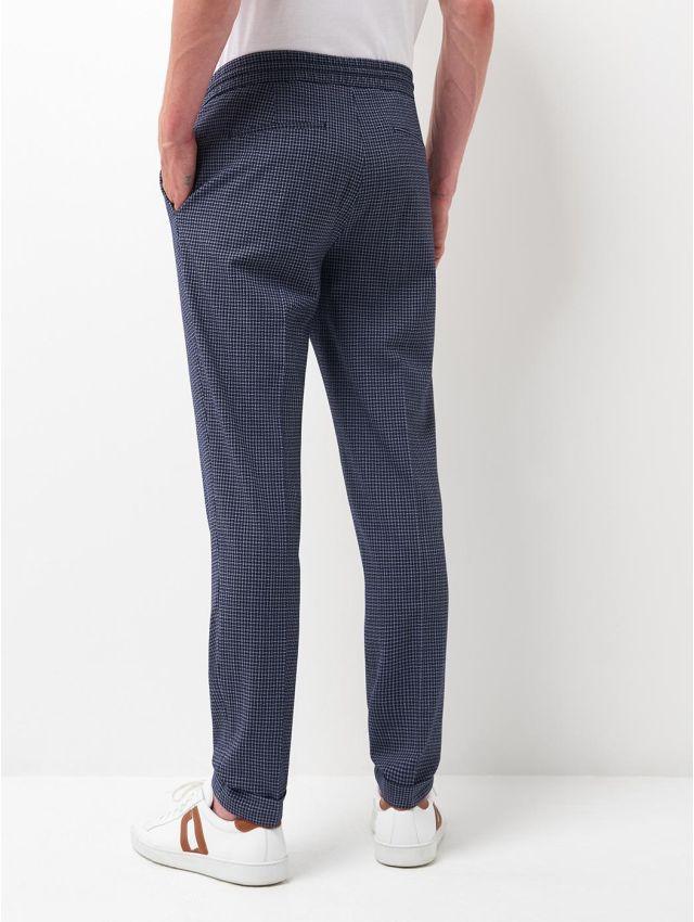 Pantalon coordonnable à carreaux