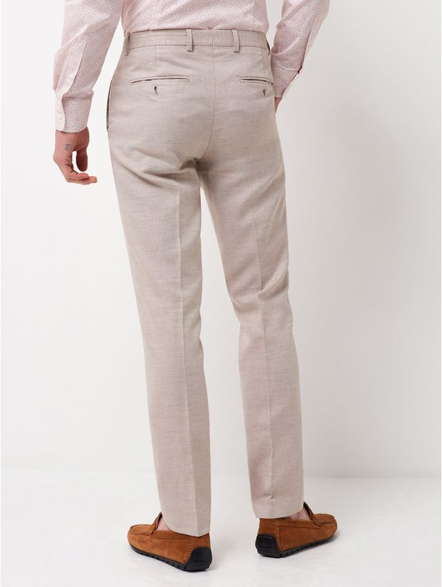 Pantalon de costume coton & lin
