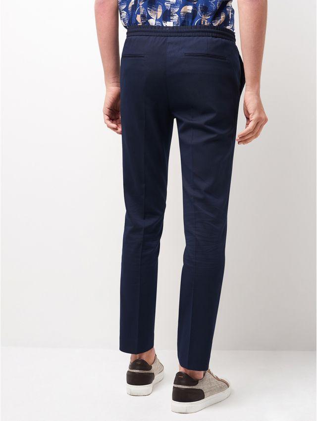 Pantalon de costume tissu armuré