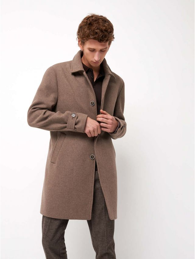 Pardessus homme en drap de laine