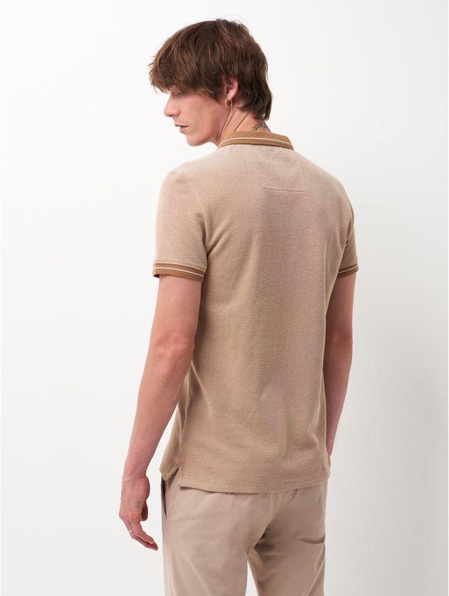 Polo à manches courtes en coton