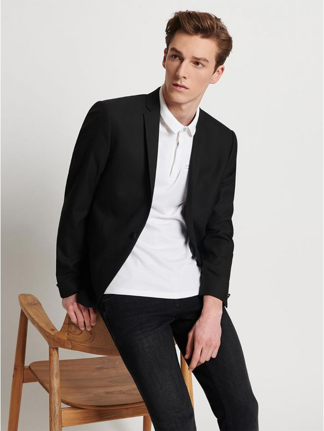 Polo manches courtes homme basic