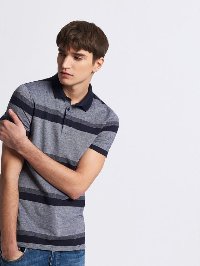 Polo manches courtes homme casual