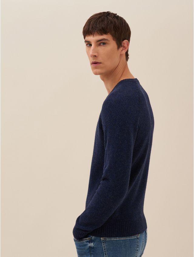 Pull homme casual col V