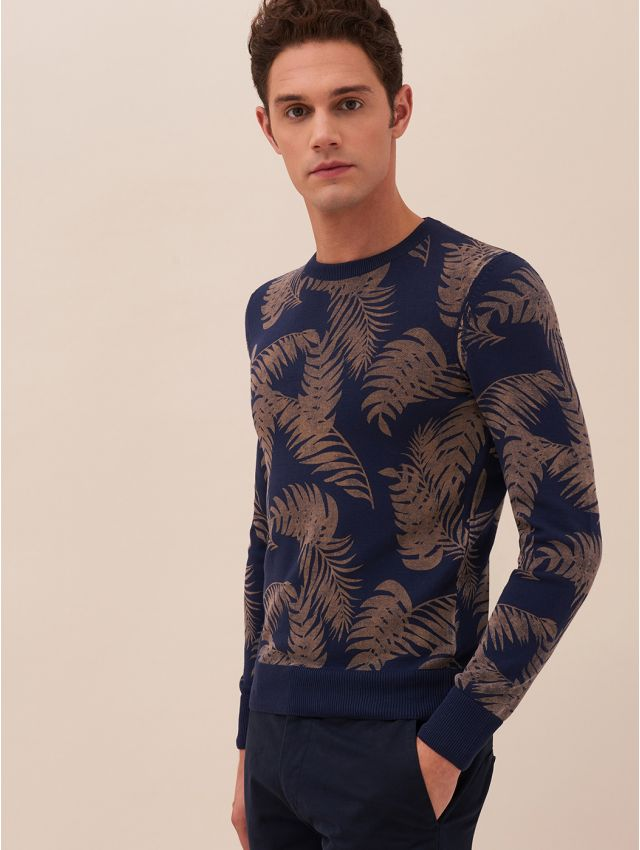 Pull homme casual fantaisie