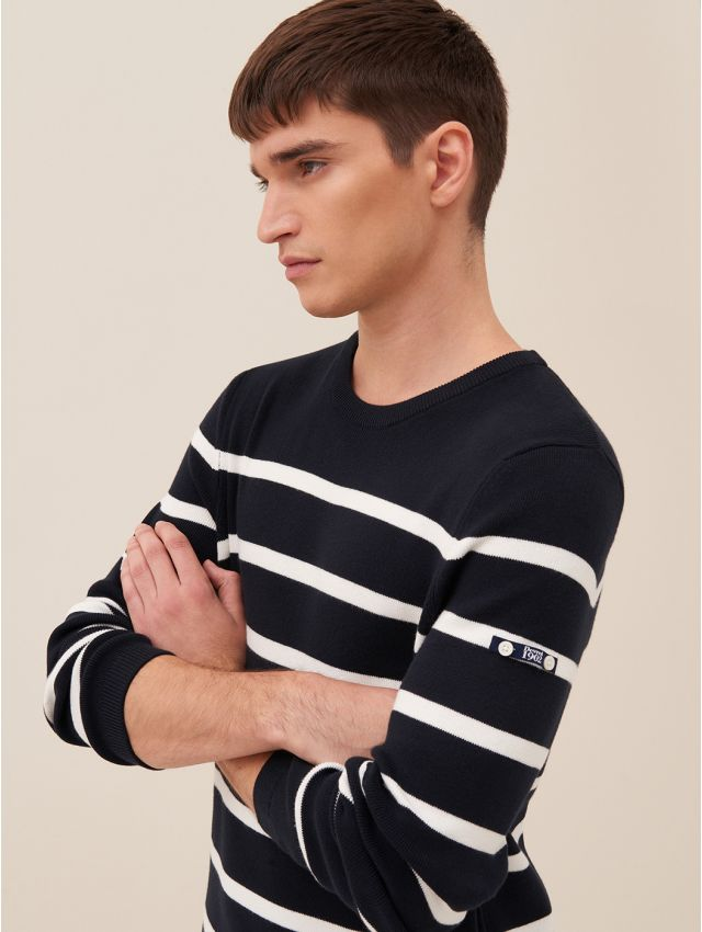 Pull homme marinère