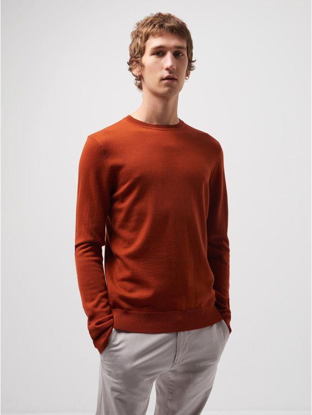 Pull col rond en laine mérinos