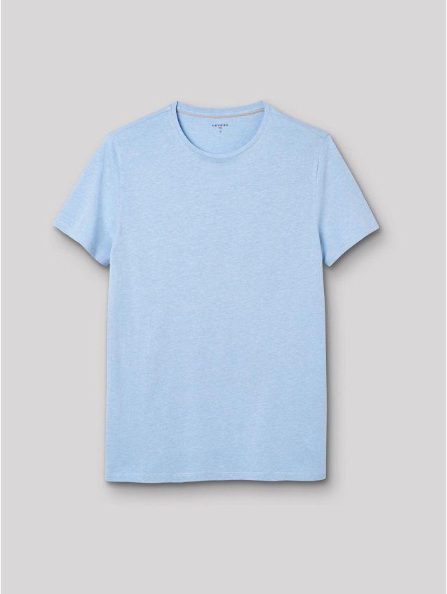 Tee shirt col rond chiné