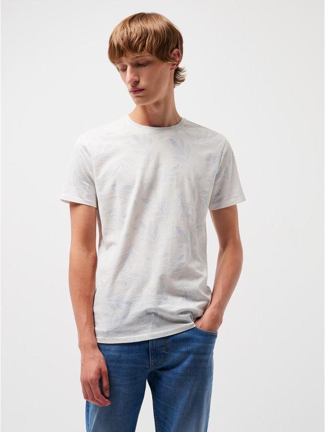 Tee shirt en coton supima® imprimé