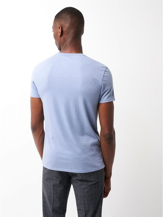 Tee shirt en Coton Supima® uni