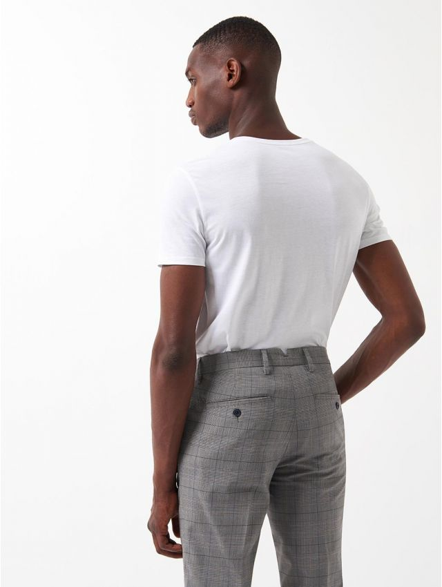 Tee shirt manches courtes homme basic