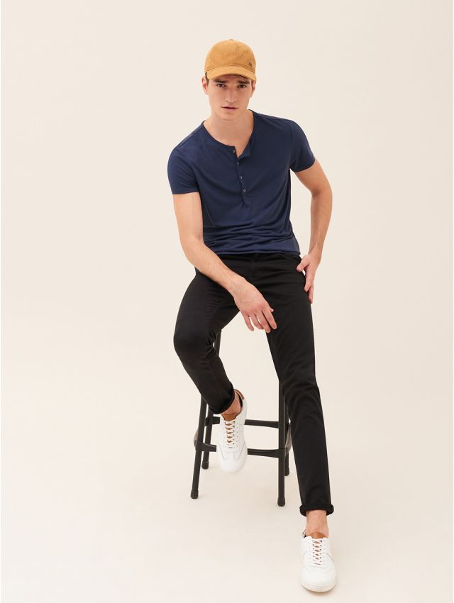 Tee shirt manches courtes homme casual