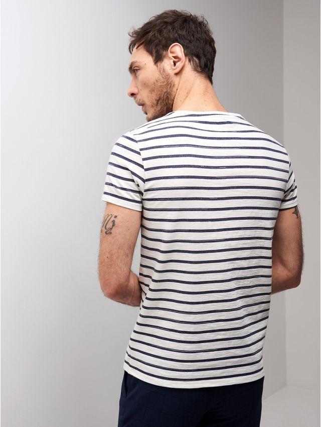 Tee shirt marinière en Coton majoritaire