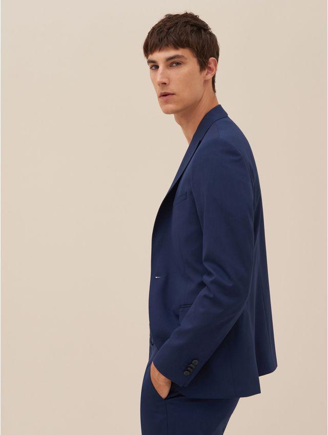 Veste de costume bleu outremer