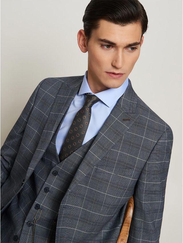 Veste de costume prince de Galles