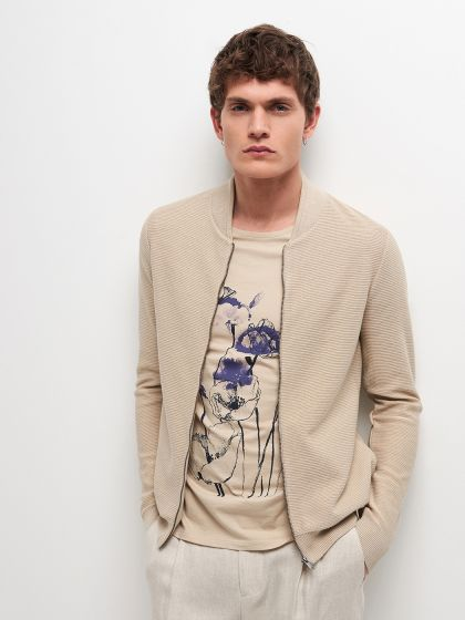 Cardigan homme casual - Image 1