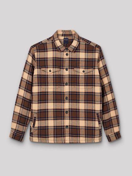 Chemise ample à carreaux - Image 3