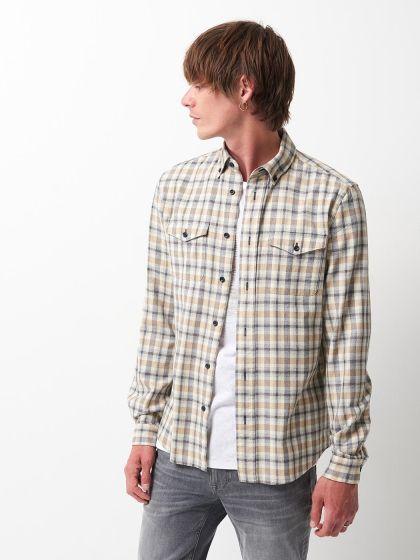 Chemise casual à carreaux - Image 1