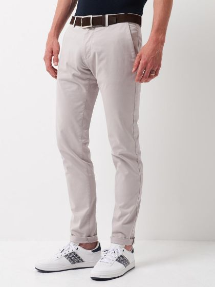 Chino homme casual uni - Image 1