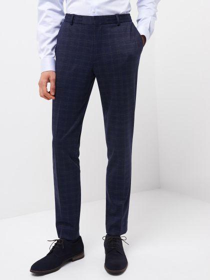 Pantalon coordonnable à carreaux - Image 1