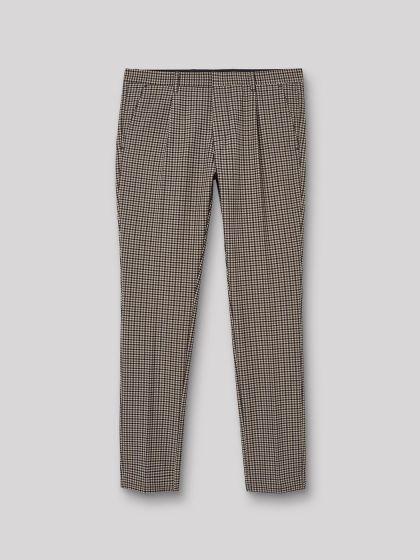 Pantalon coordonnable slim à carreaux - Image 3