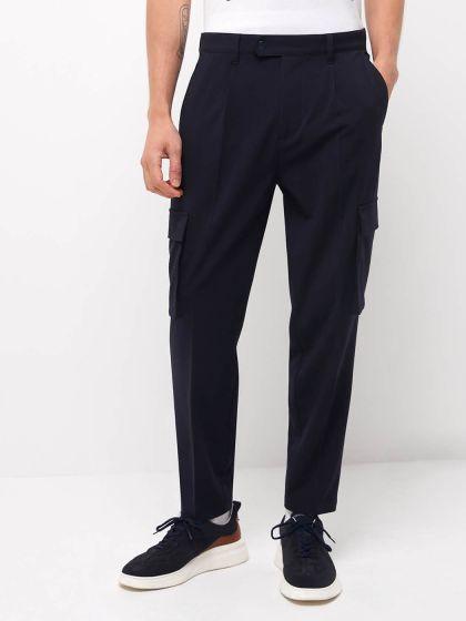 Pantalon coordonnable slim uni - Image 1
