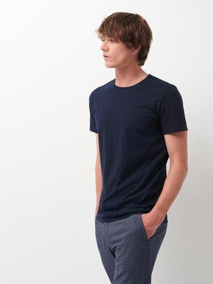 Tee shirt en Coton biologique imprimé   - Image 1