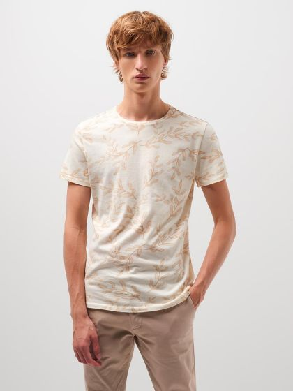 Tee shirt en coton supima® imprimé  - Image 1