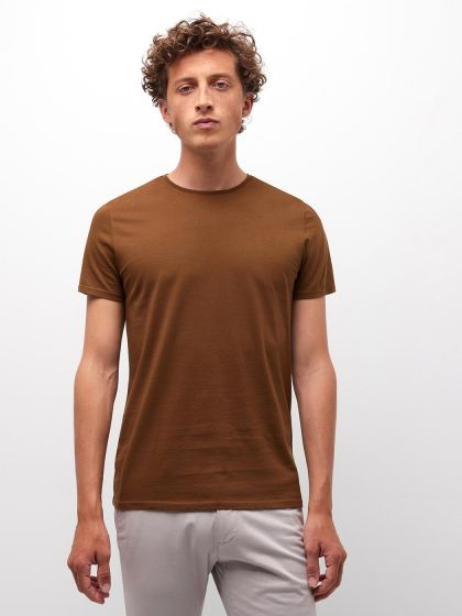 Tee shirt manches courtes homme basic - Image 1