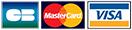 Paiement par carte bancaire (visa, mastercard, carte bleue)